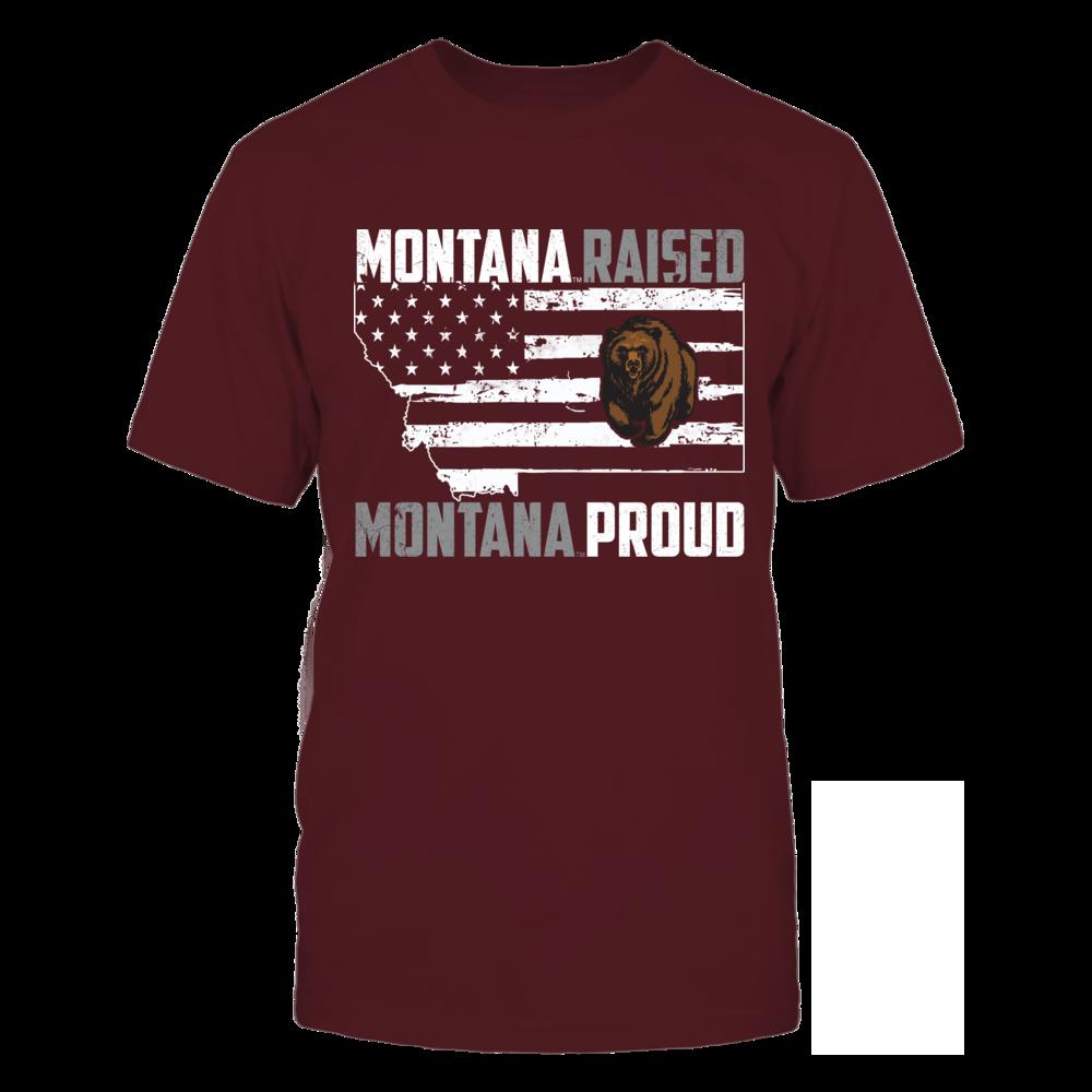 Montana Grizzlies - Raised - Proud Front picture