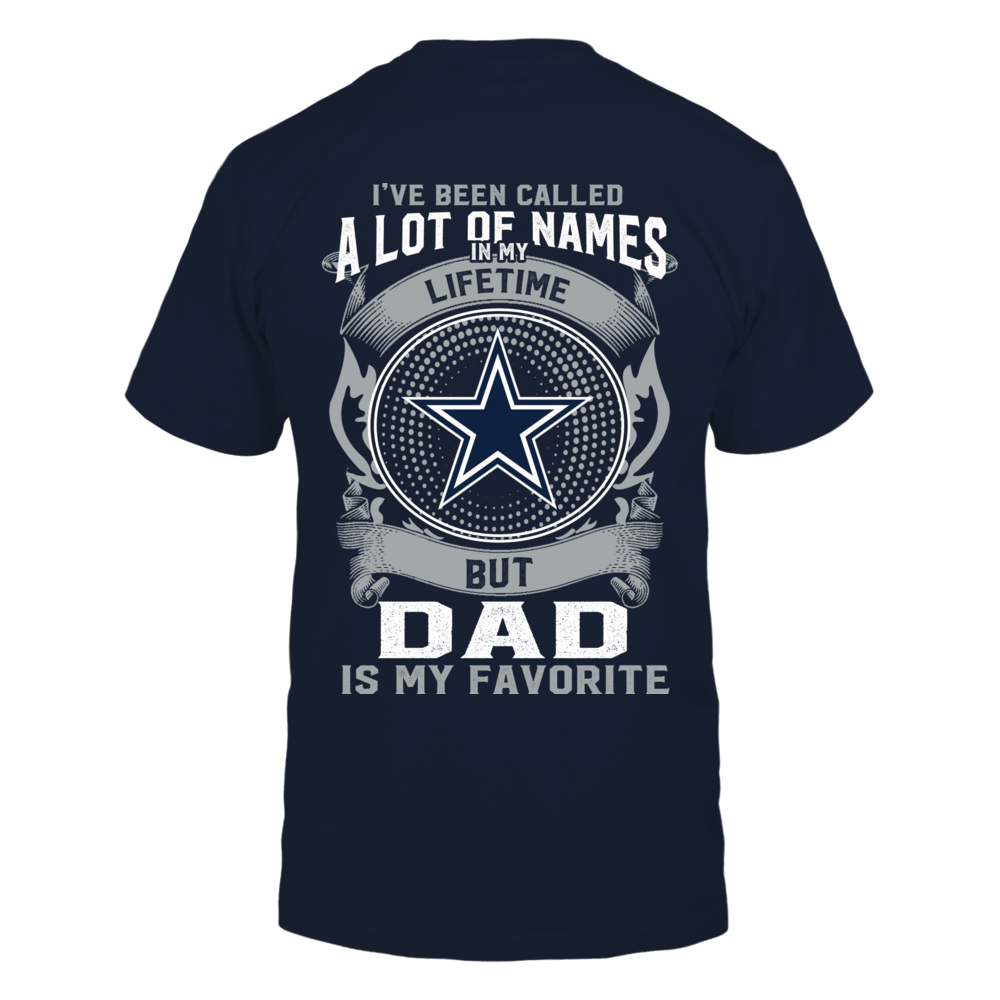 Dallas Cowboys - My Favorite Name - Dad Back picture