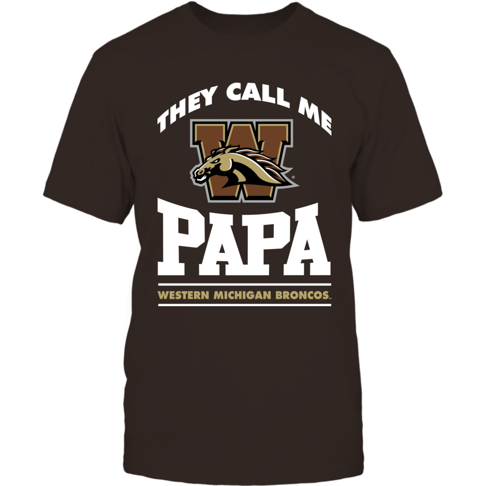 Western Michigan Broncos - They Call Me Papa Front picture