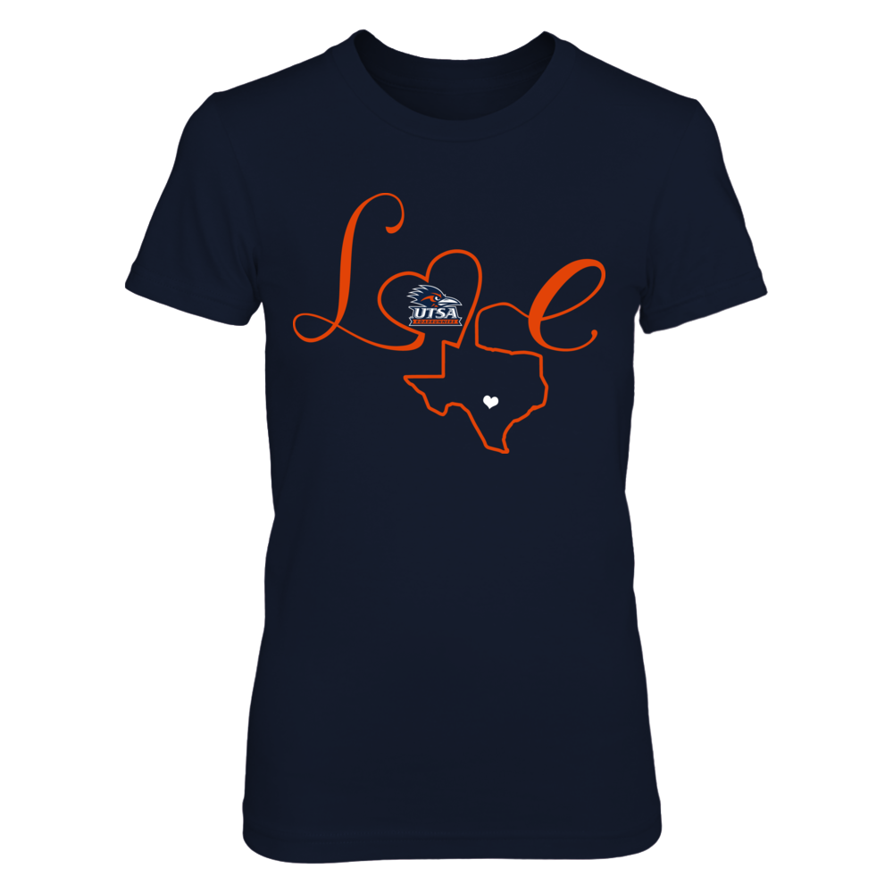 UTSA Roadrunners - Love State Outline Front picture