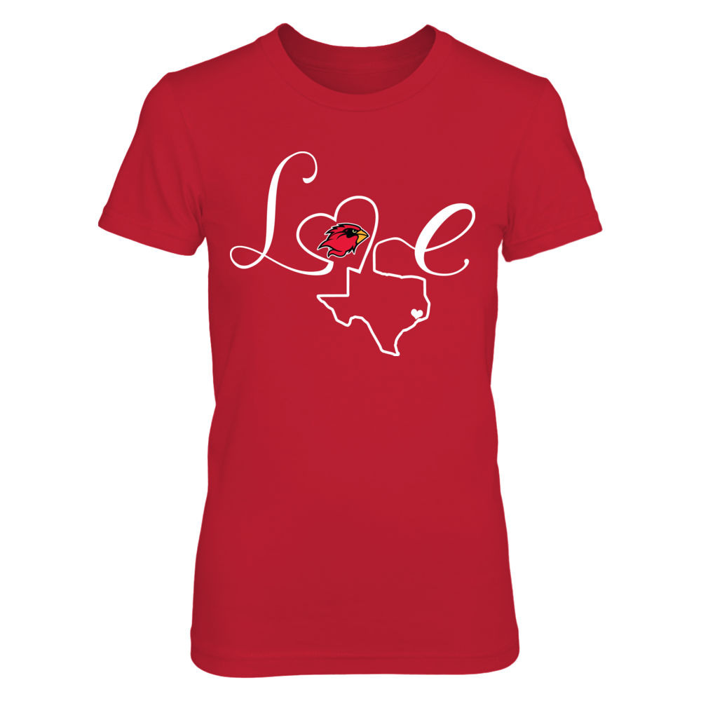 Lamar Cardinals - Love State Outline Front picture