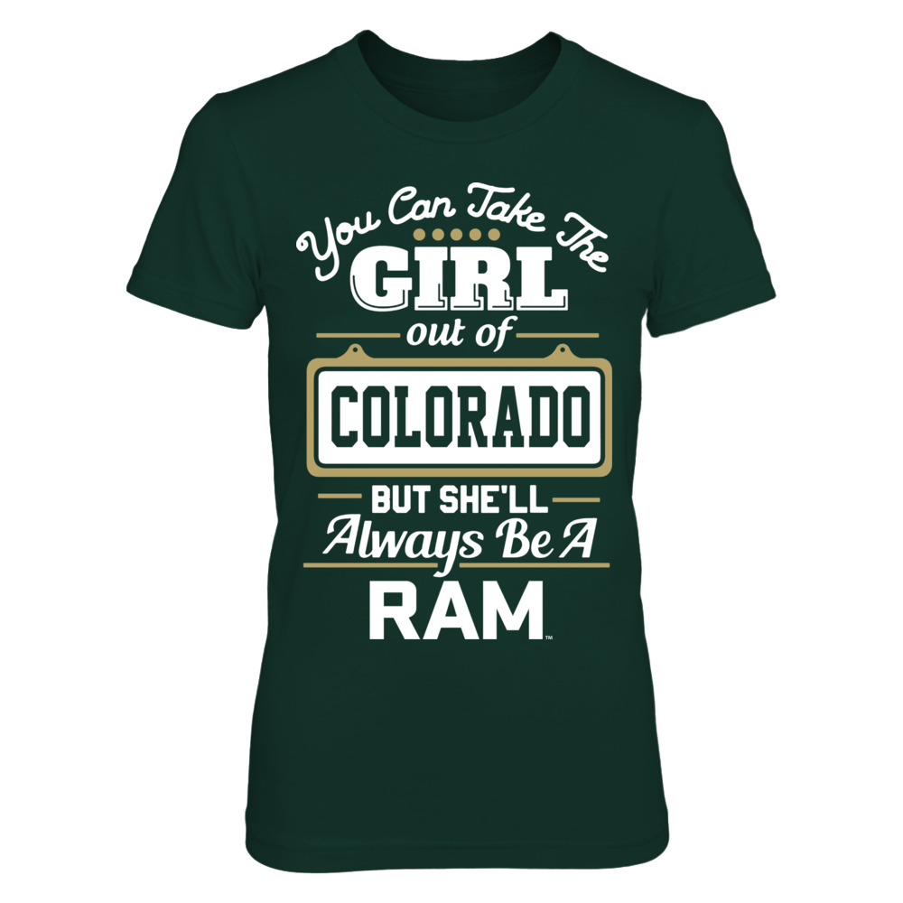 Colorado State Rams - Take The Girl Out Front picture