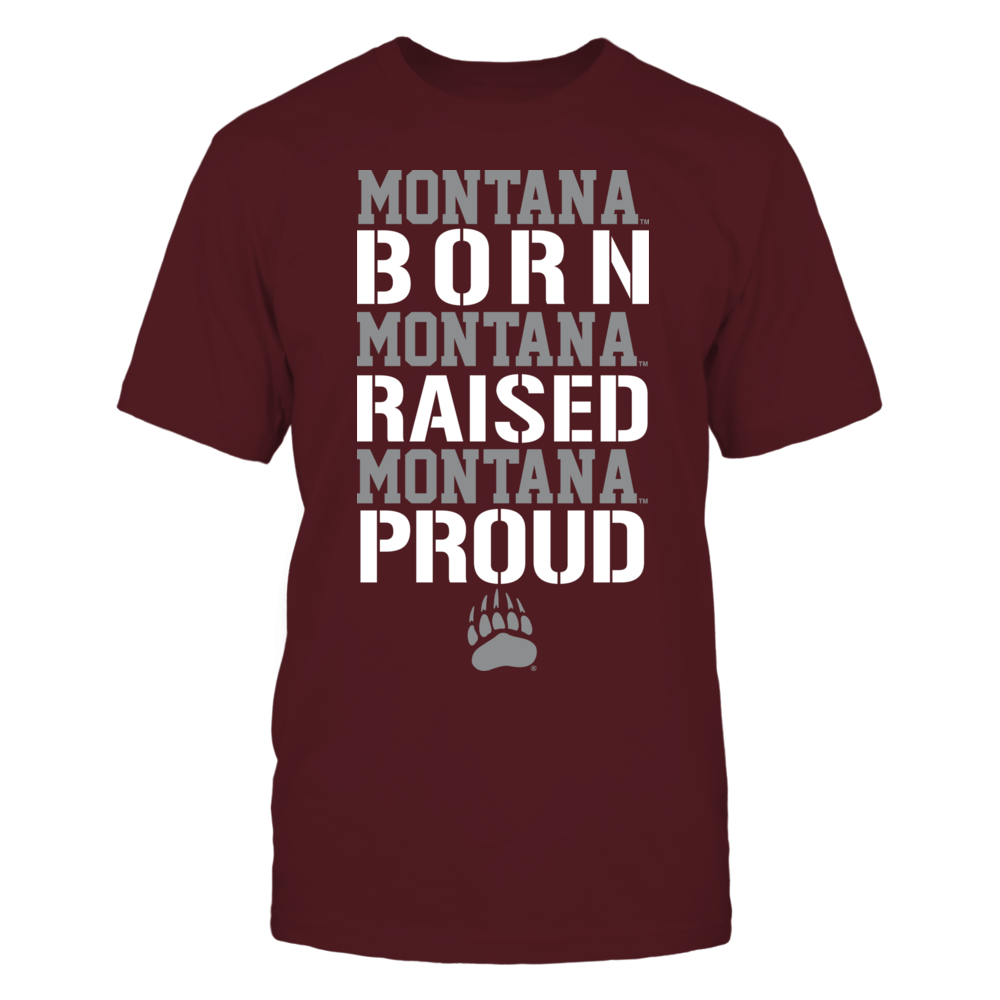 Montana Grizzlies - Born Raised Proud Front picture