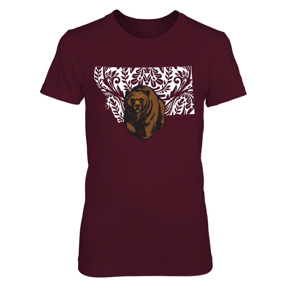 Montana Grizzlies - Pattern State Front picture