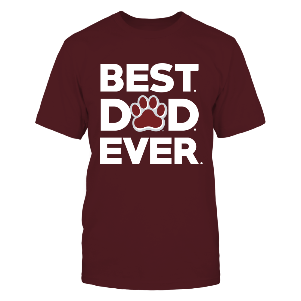 Mississippi State Bulldogs - Best Dad Ever Front picture