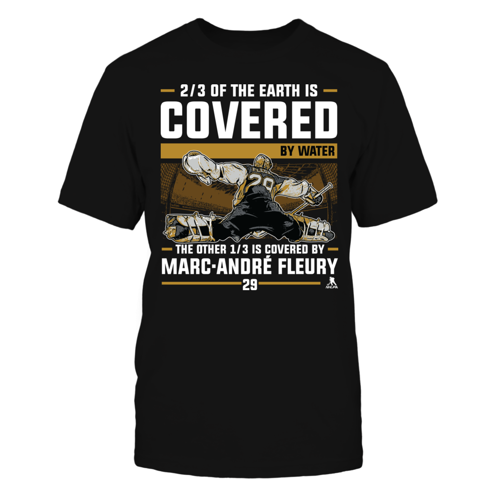 Marc Andre Fleury - Covered By Front picture