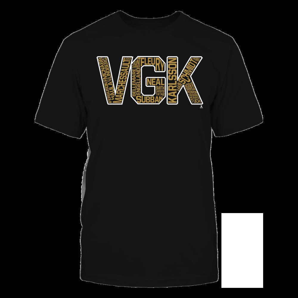 VGK Bubble Letters Front picture