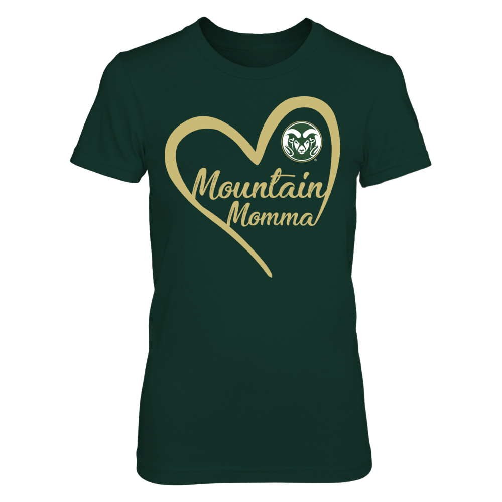 Colorado State Rams - Heart Mountain Momma Front picture