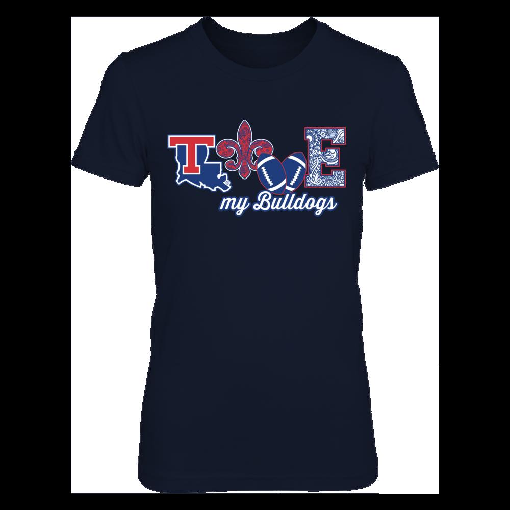 Louisiana Tech Bulldogs - Love My Team - Football Front picture