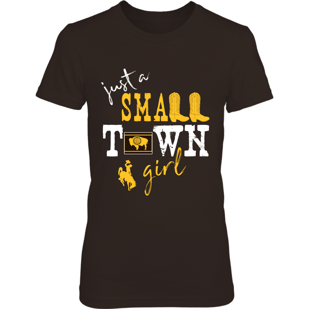 Wyoming Cowboys - Small Town Girl - State Flag Front picture