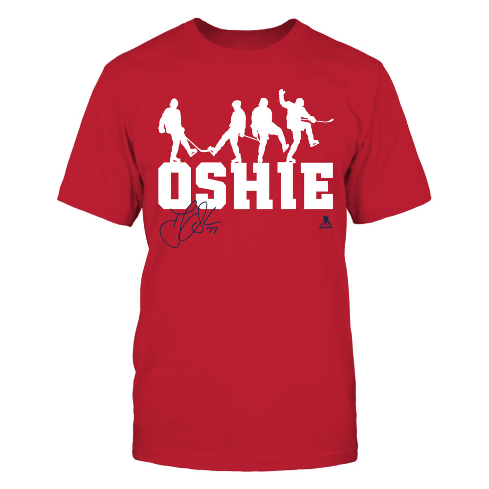 Victory Dance - T.J Oshie Front picture