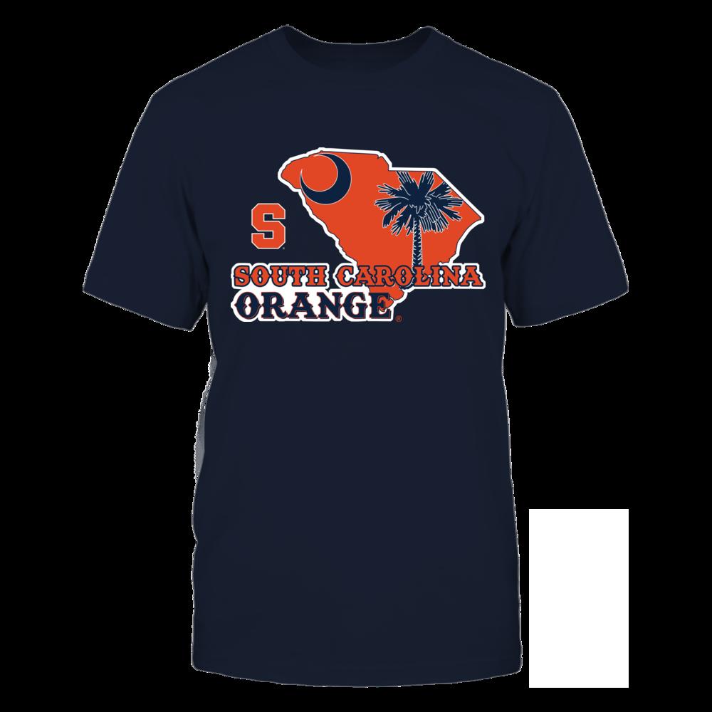 Syracuse Orange - Mascot State Flag - South Carolina Orange Front picture
