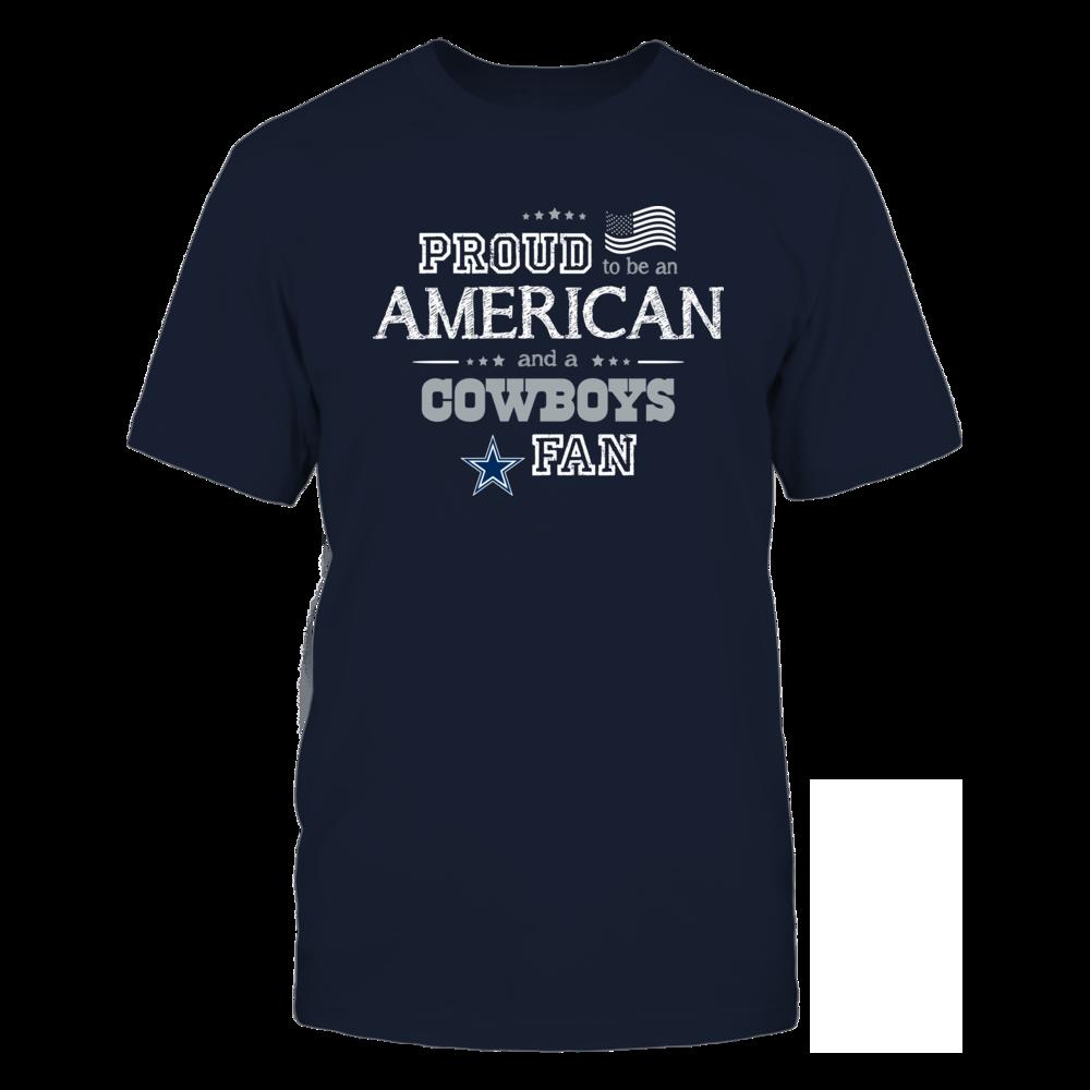Proud American Dallas Cowboys Fan Shirt Front picture