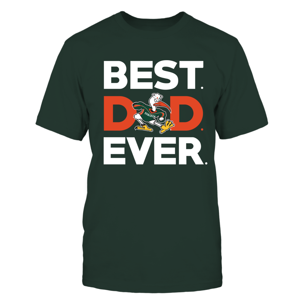 Miami Hurricanes - Best Dad Ever Front picture