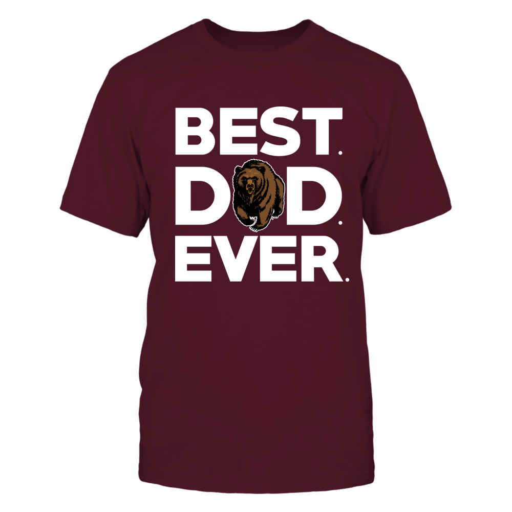 Montana Grizzlies - Best Dad Ever Front picture