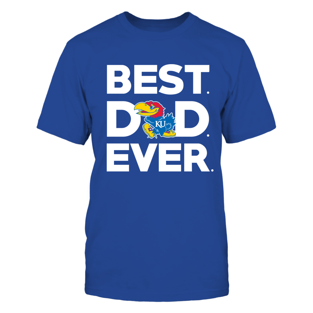 Kansas Jayhawks - Best Dad Ever Front picture