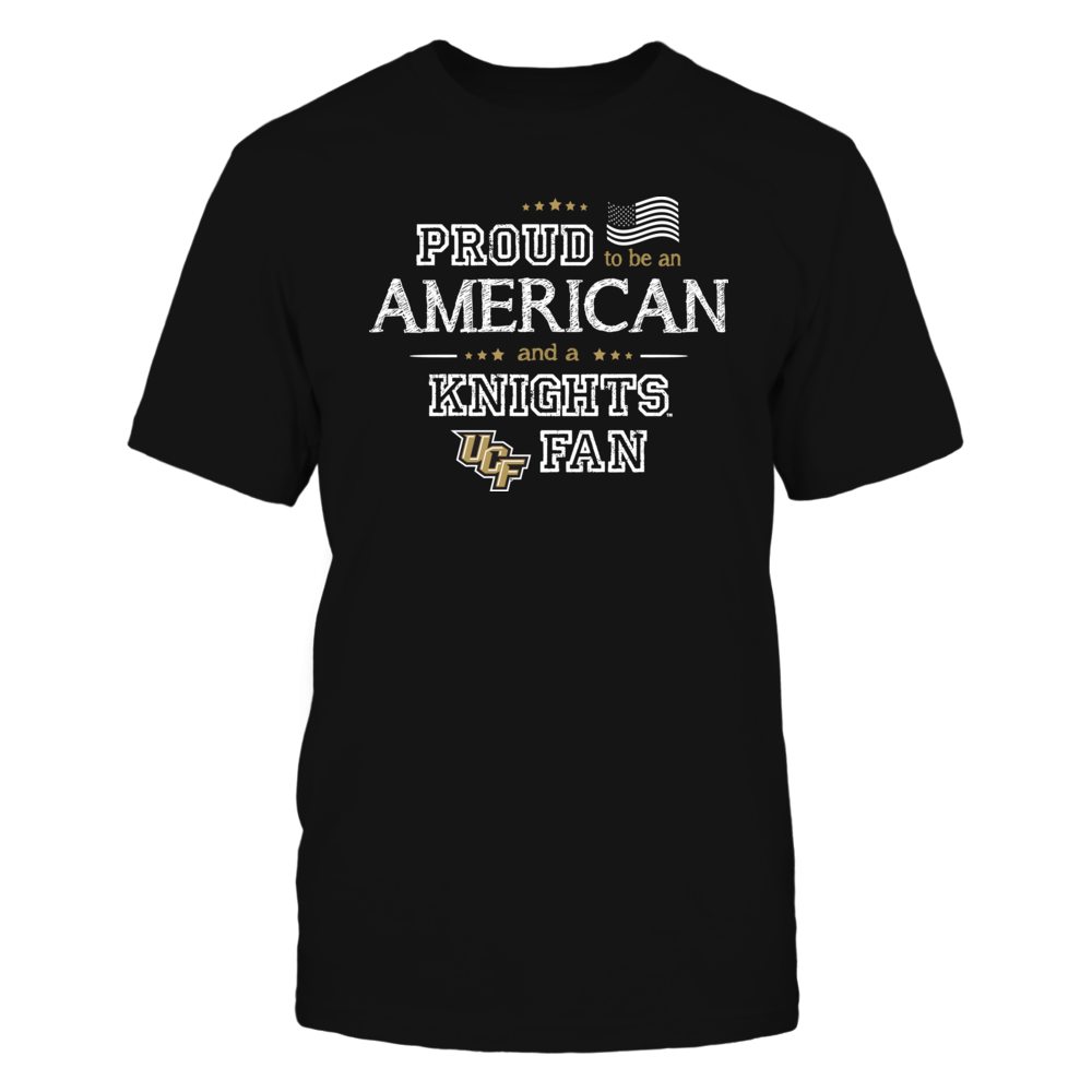 Proud American UCF Knights Fan Shirt Front picture
