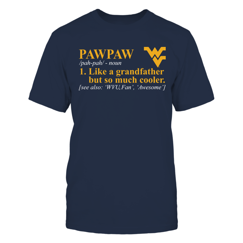 Pawpaw Definition - West Virginia Mountaineers Front picture