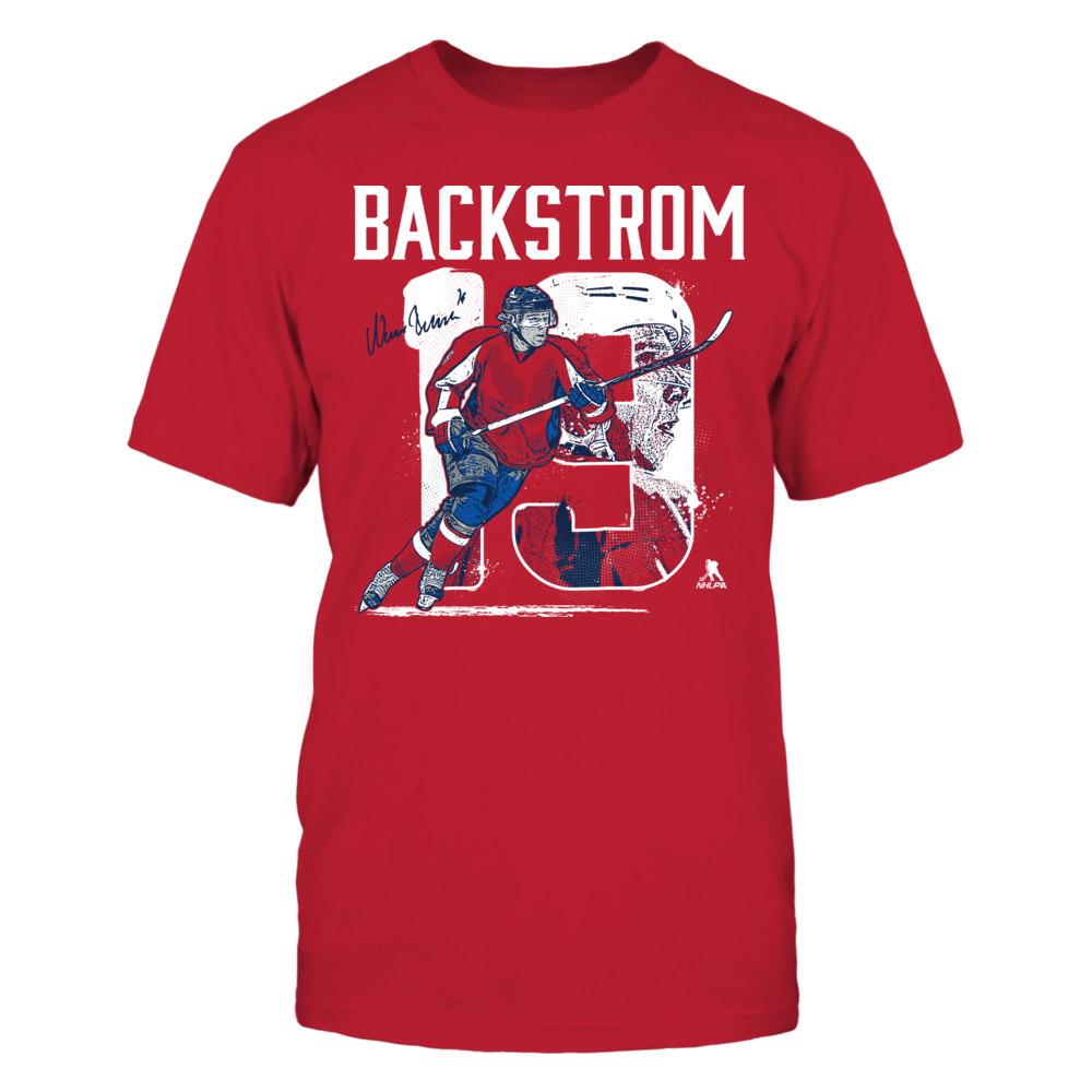 Player Number - Backstrom Front picture