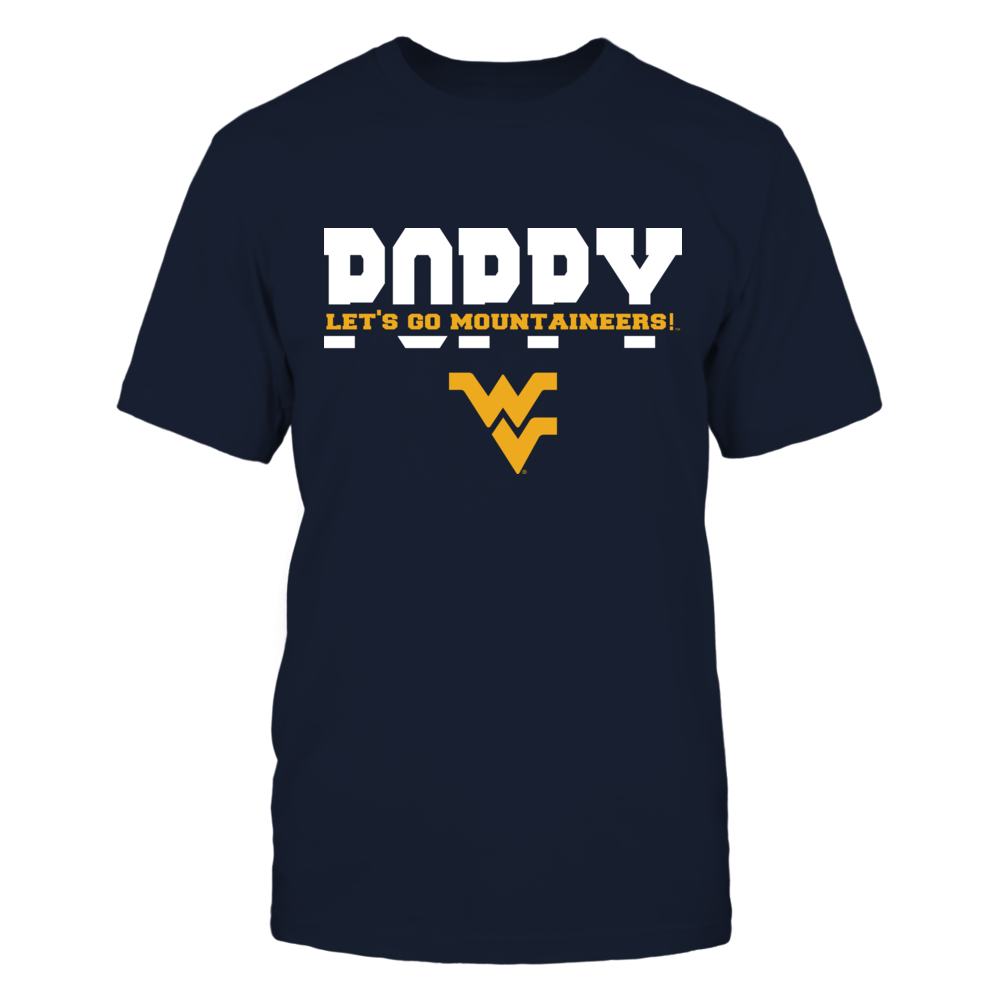 West Virginia Mountaineers - Poppy - Slogan Cut Through Front picture