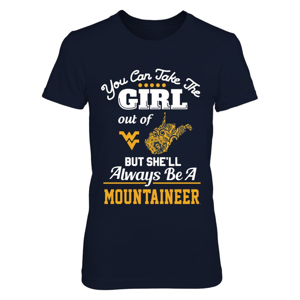 West Virginia Mountaineers -  Take The Girl Out - Lace pattern Front picture