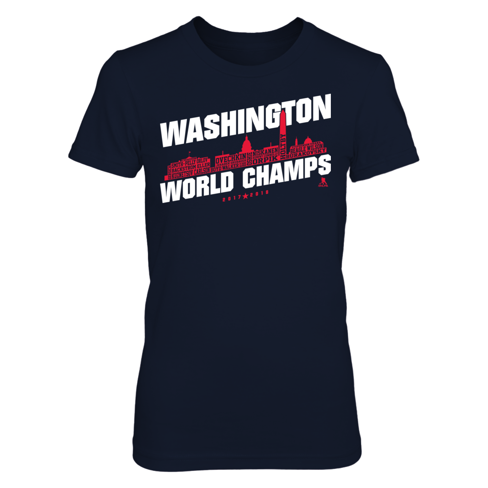 Alex Ovechkin - Washington World Champs Skyline Front picture