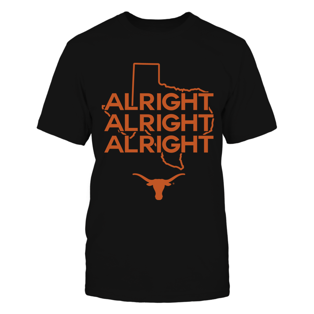 Texas Longhorns - Alright State Map - IF-IC13-DS27 Front picture