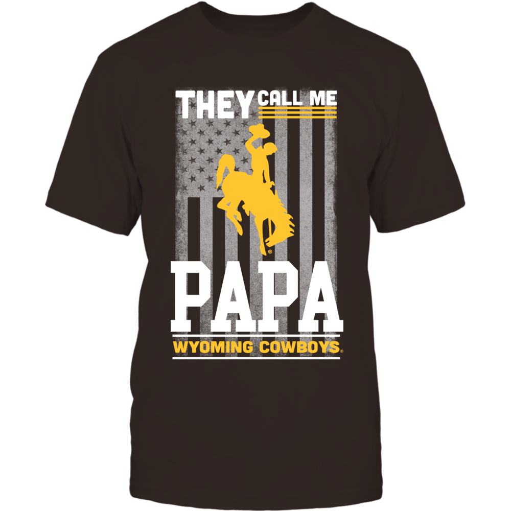 Wyoming Cowboys - They Call Me Papa - Flag Front picture