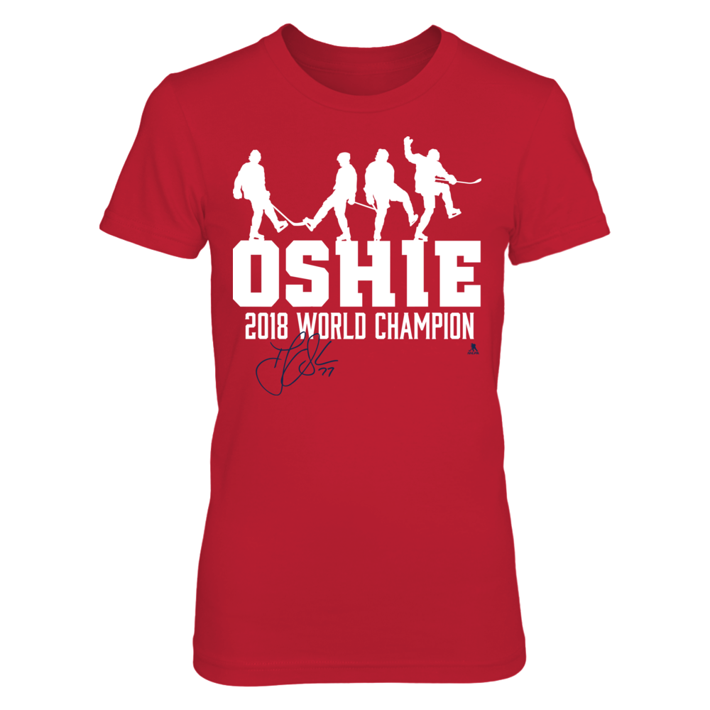 TJ Oshie - 2018 World Champion Front picture