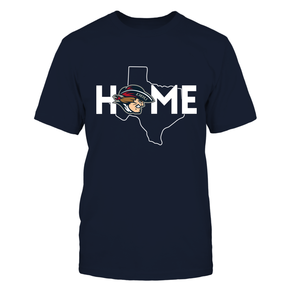 Dallas Baptist Patriots - Home With State Outline Front picture