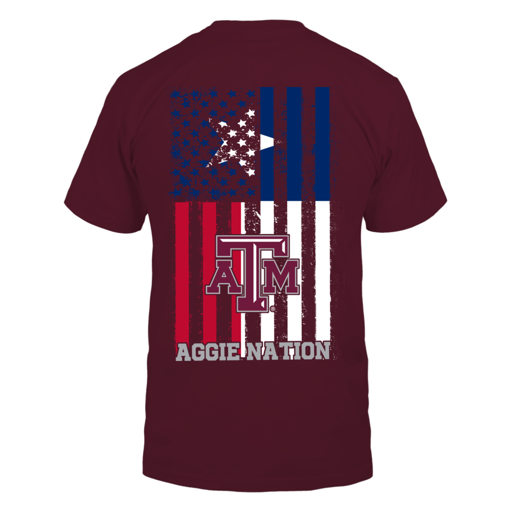 Texas A&M Aggies - State Flag Nation Back picture