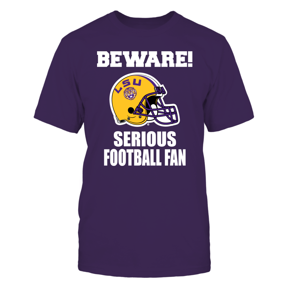 LSU - Serious Football Fan Front picture