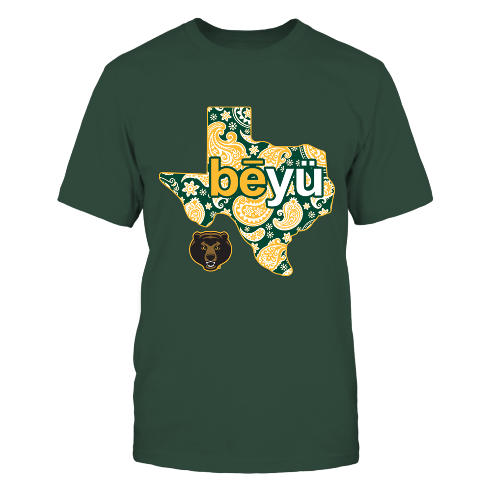 Baylor Bears - Paisley State Phonetic Front picture