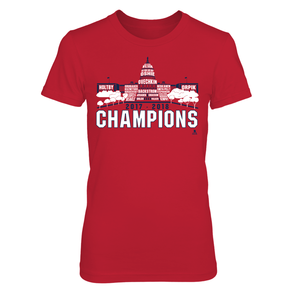 Washington D.C. 2017 - 2018 Champions Skyline Front picture