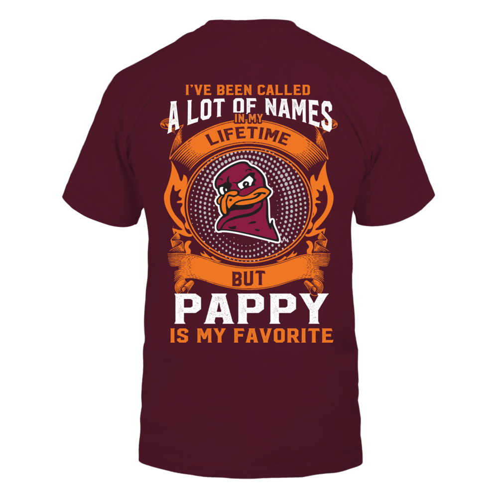 Virginia Tech Hokies - My Favorite Name - Pappy Back picture