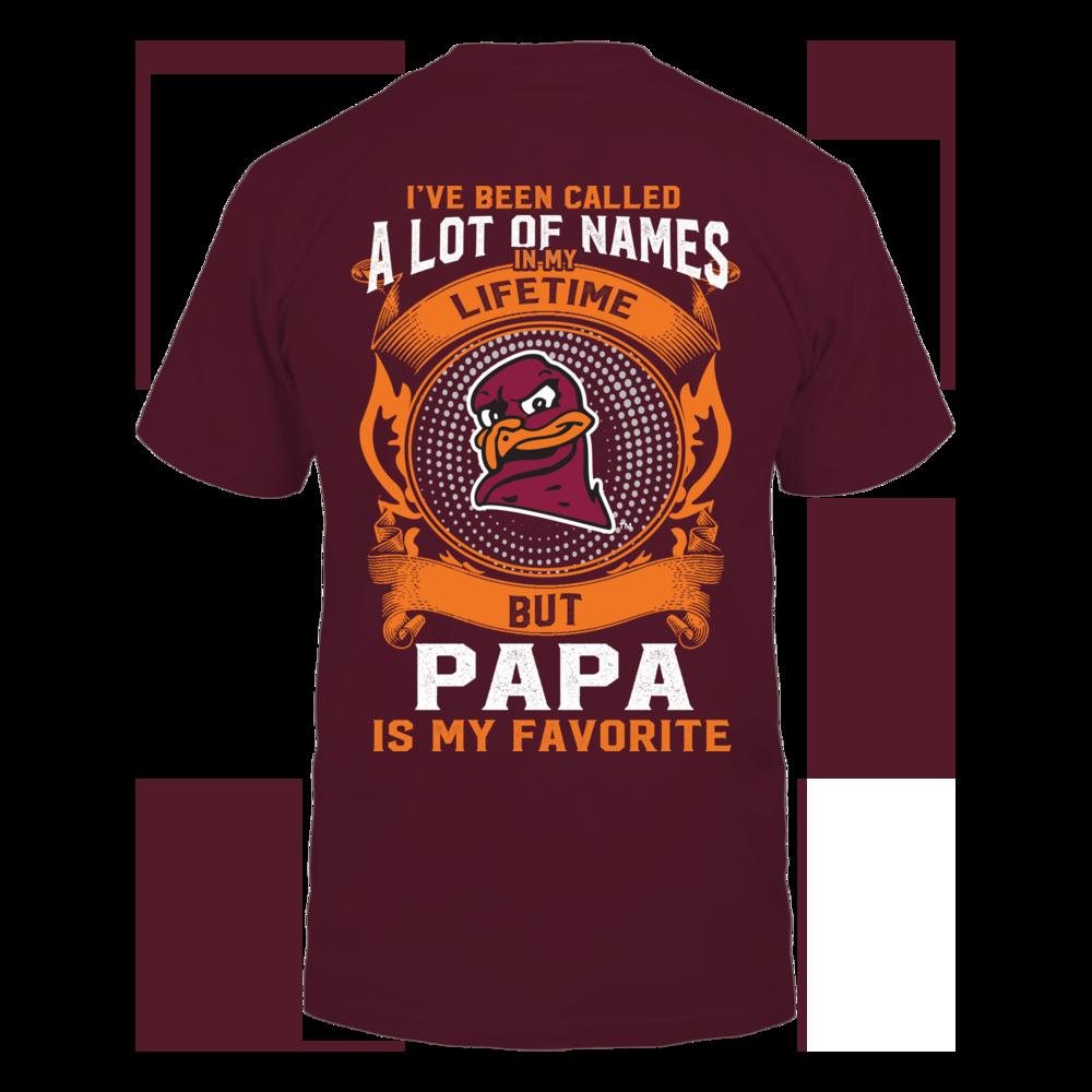 Virginia Tech Hokies - My Favorite Name - Papa Back picture