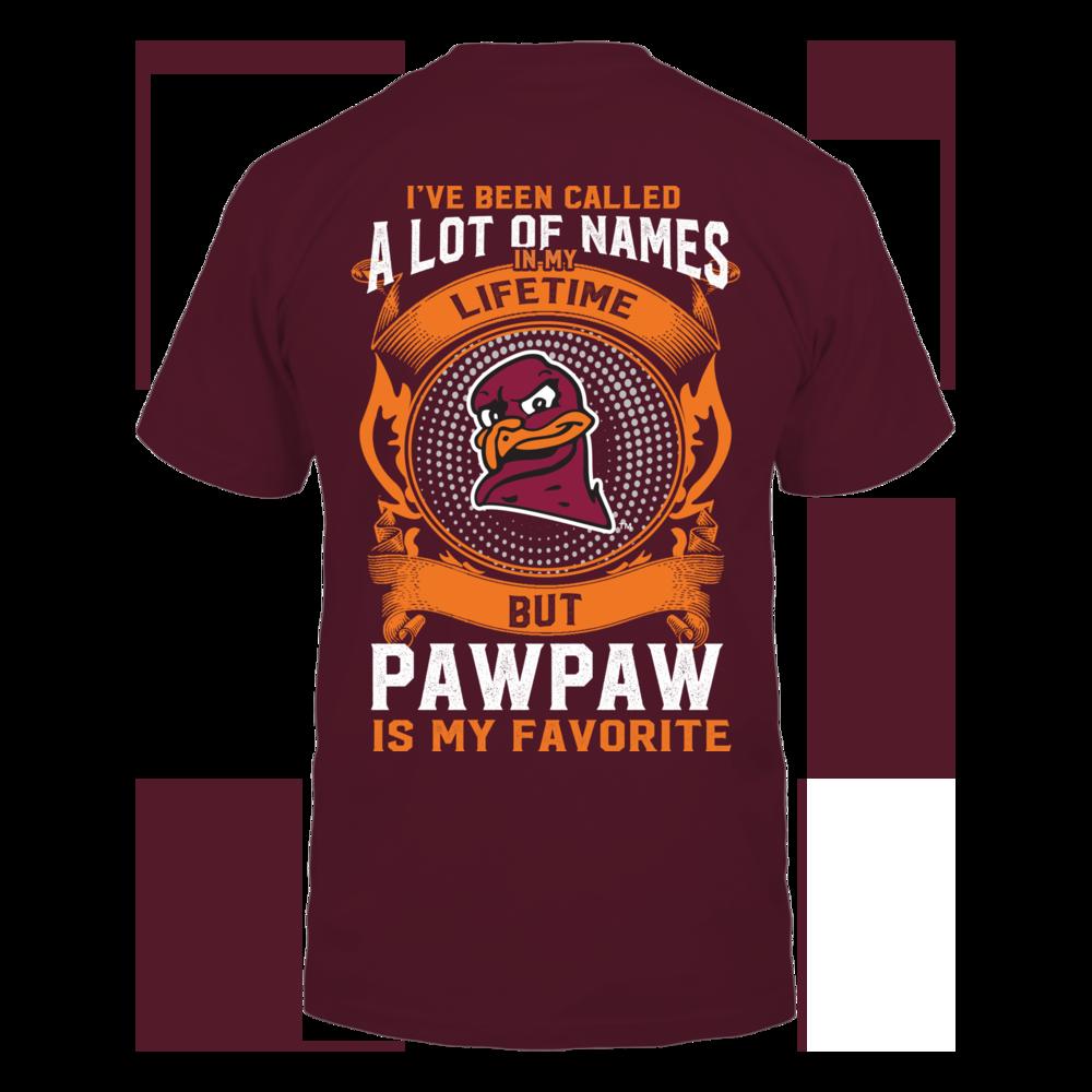 Virginia Tech Hokies - My Favorite Name - Pawpaw Back picture