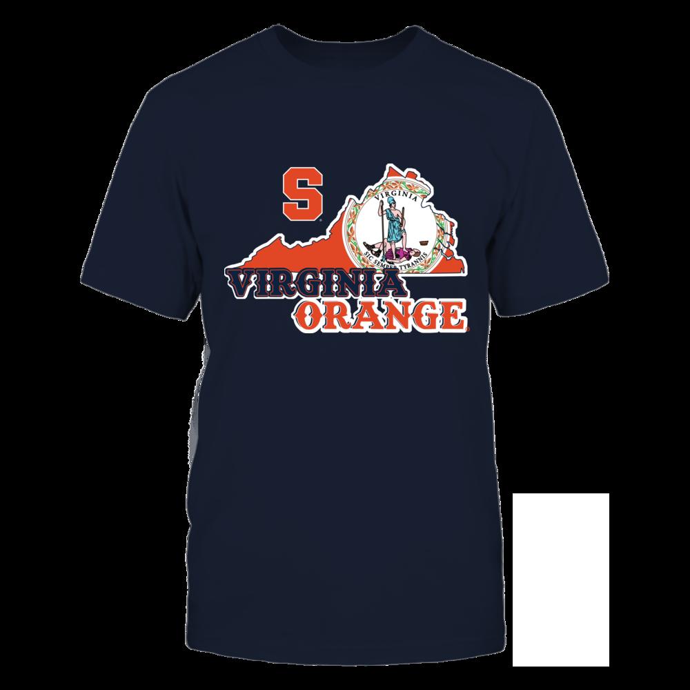 Syracuse Orange - Mascot State Flag - Virginia Front picture