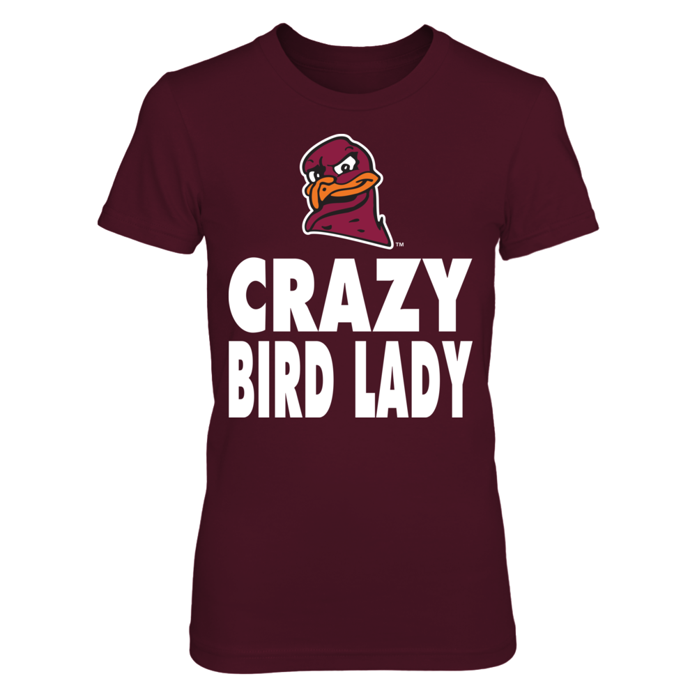 Virginia Tech Hokies - Crazy Mascot Lady Front picture