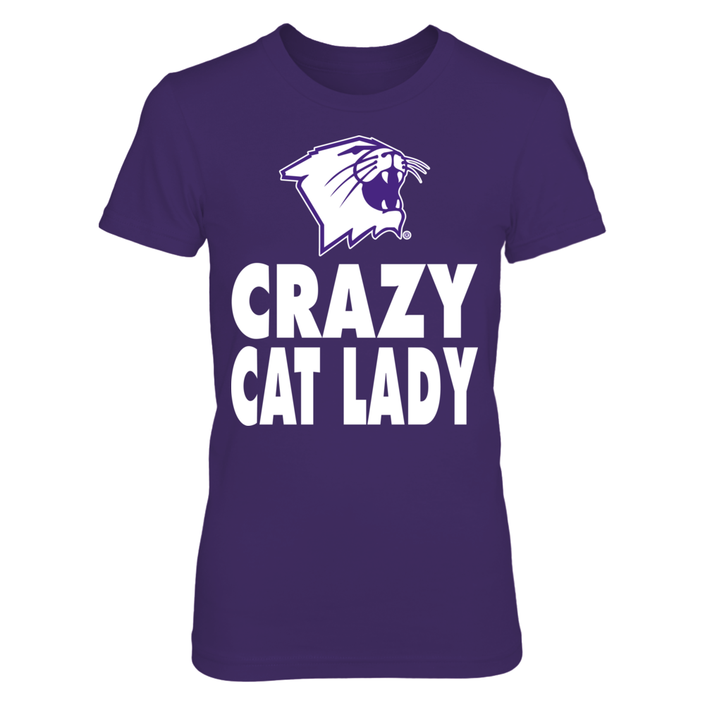 Northwestern Wildcats - Crazy Mascot Lady Front picture
