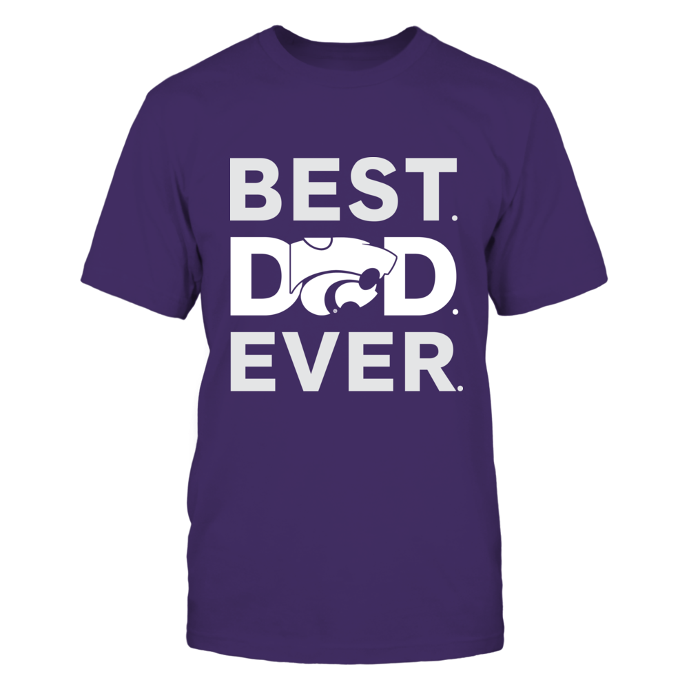 Kansas State Wildcats - Best Dad Ever Front picture