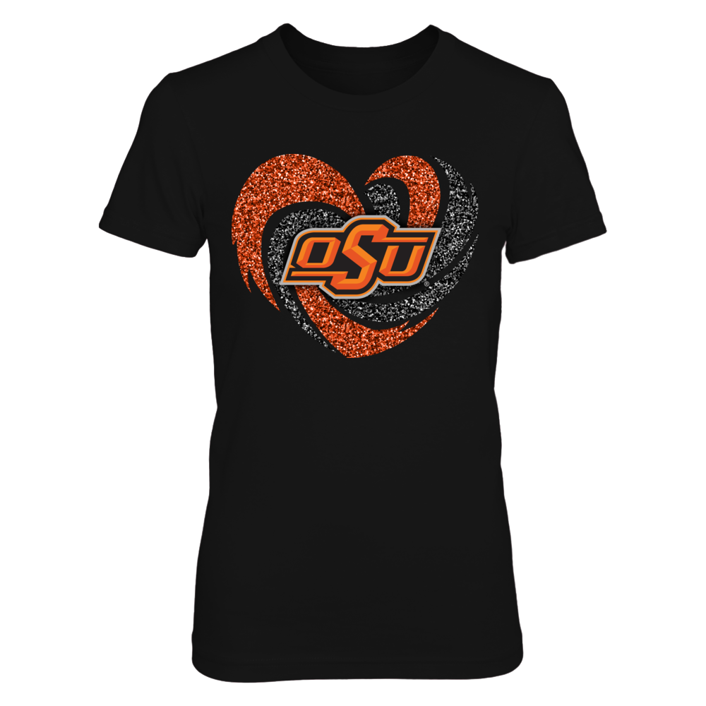 Oklahoma State Cowboys - Sparkle - Hurricane Heart Front picture