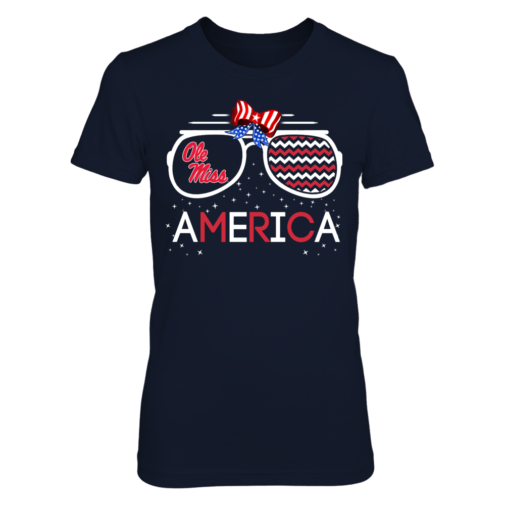 Ole Miss Rebels - American Glasses Front picture