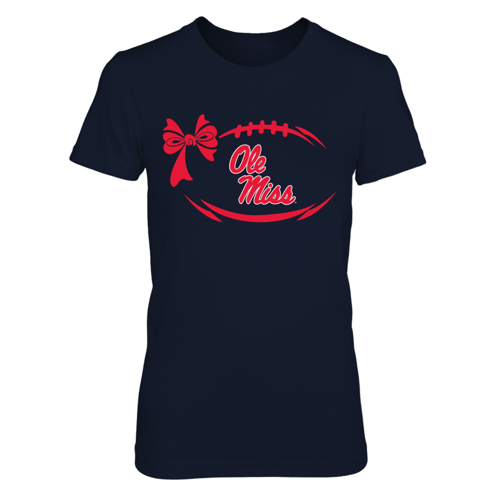 Ole Miss Rebels - Football bow - Logo Front picture