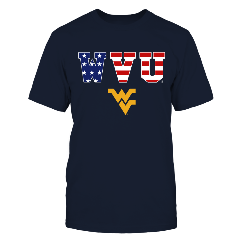 West Virginia Mountaineers - American pattern Front picture