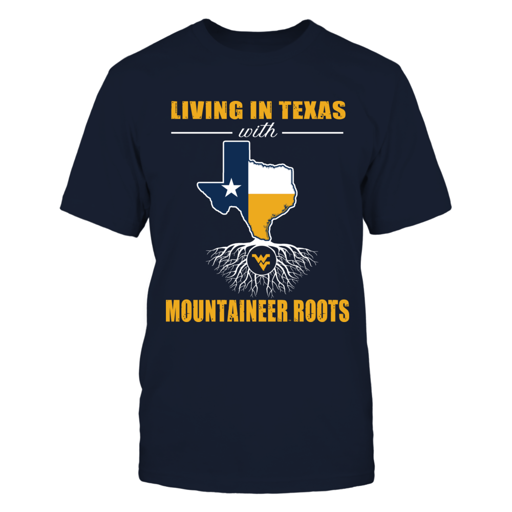 West Virginia Mountaineers - Team roots - State Flag - Texas Front picture