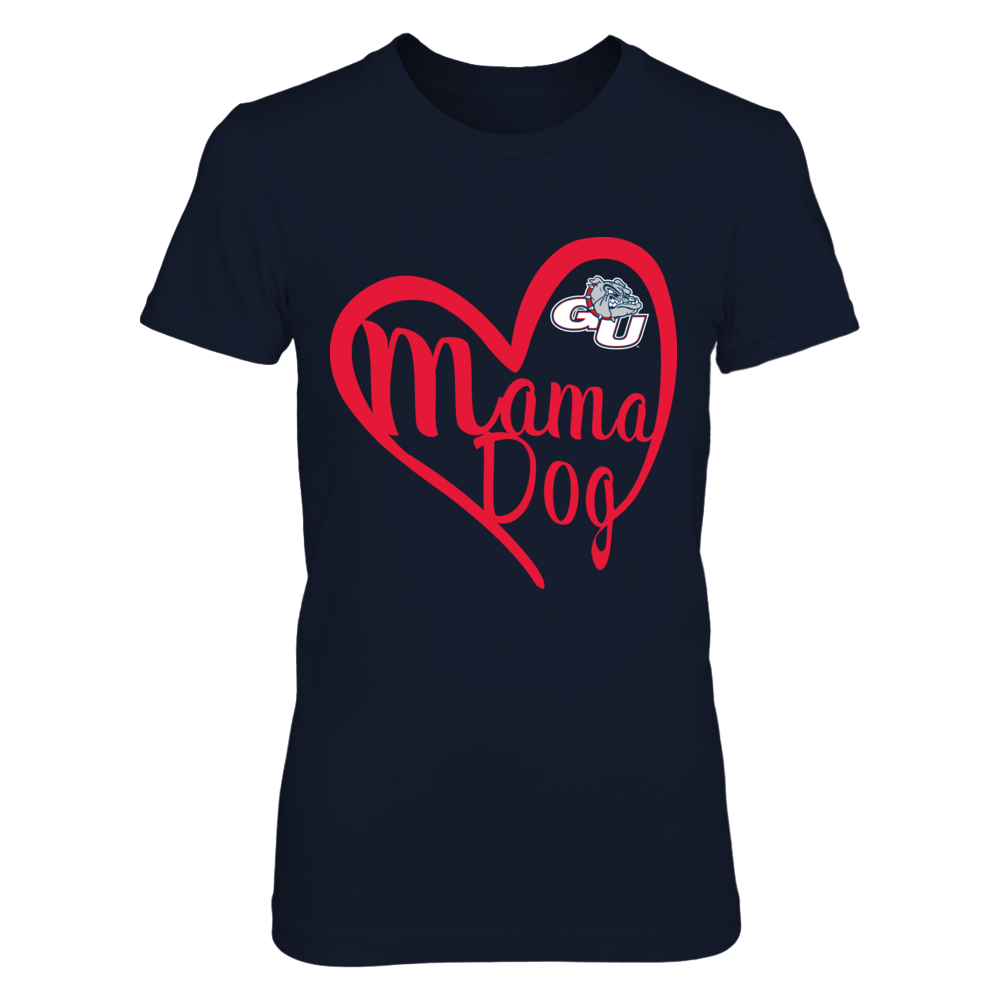 Gonzaga Bulldogs - Heart Mama Animal Front picture