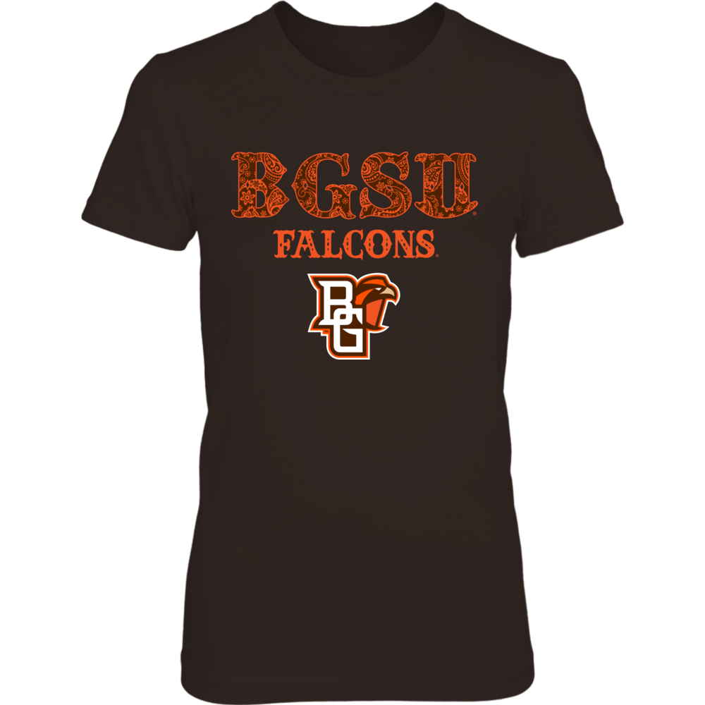 Bowling Green Falcons - Pattern Letters Front picture