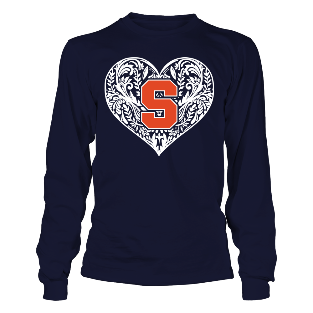 Syracuse Orange - Pattern Heart Logo - Original Front picture