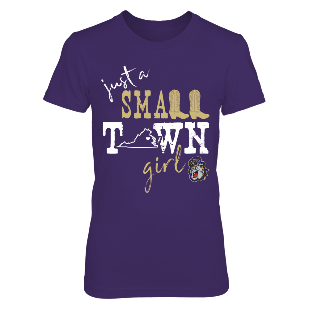 James Madison Dukes - Small Town Girl - State Outline Front picture